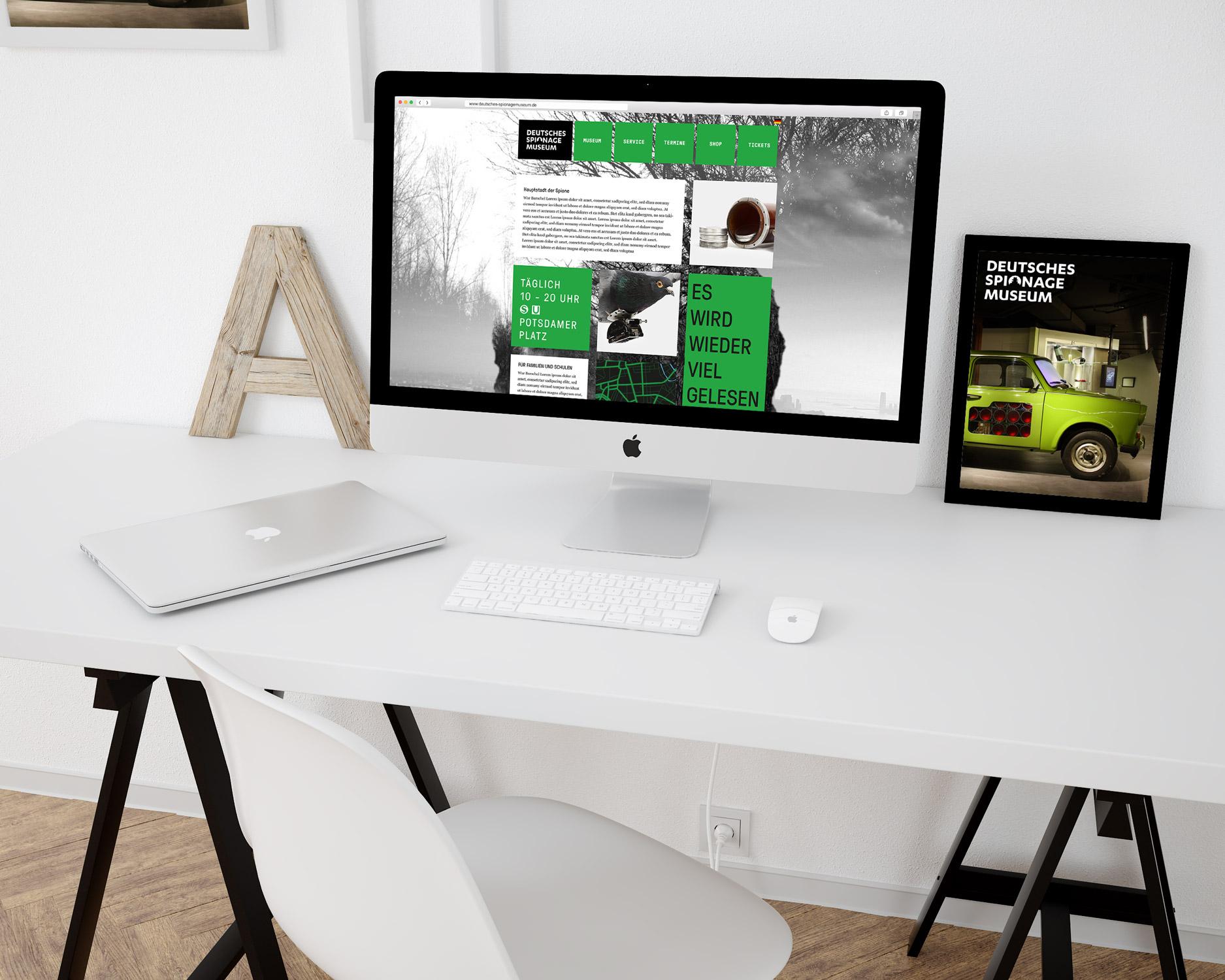 Webdesign und WordPress-Programmierung für das Deutsches Spionagemuseum Berlin